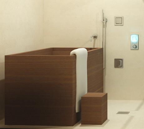 jeg vil ha - Japanese Bathroom Design' badekar, jeg vil ha' badekar!…. og sauna | stuen tv.